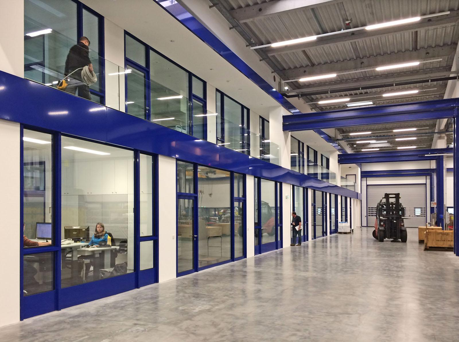 211 woll maschinenbau halle d architekturwerk br njes for Architekturburo saarbrucken